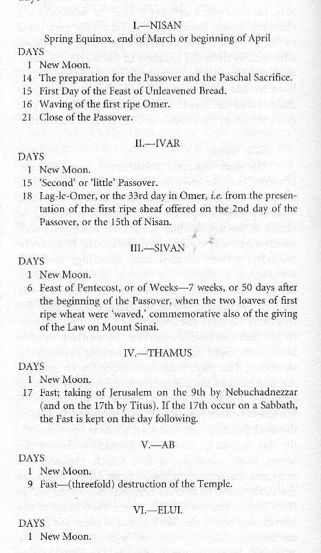 Calendar of Festivals 1 - The Temple