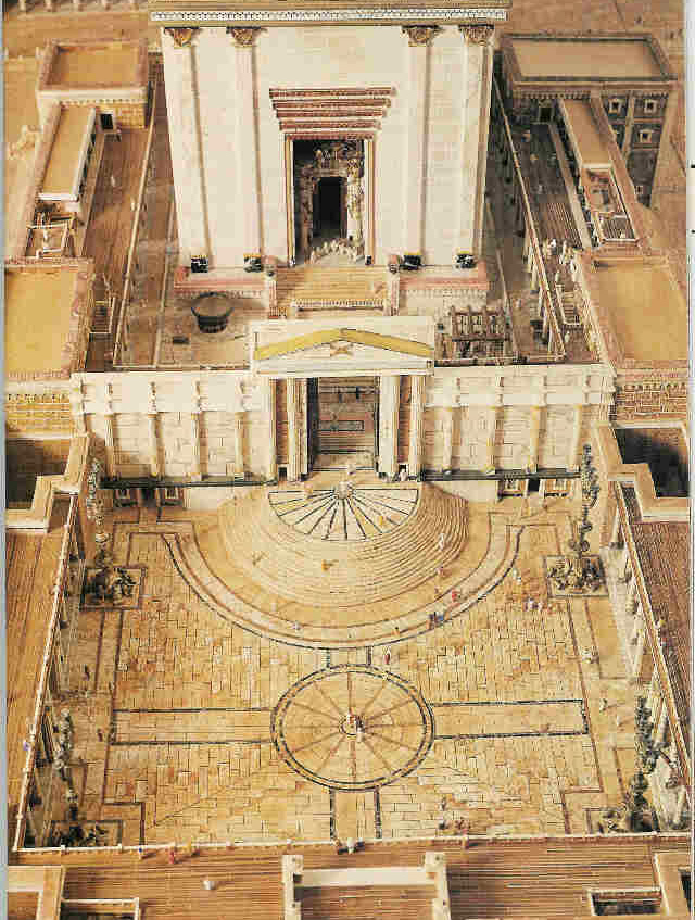 Court of the Women - The Temple