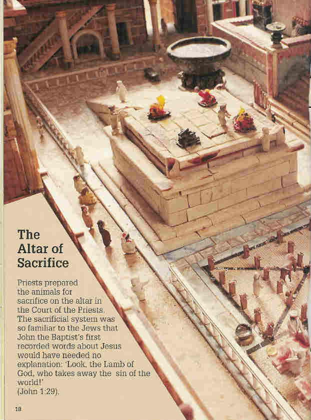 The Altar of Sacrifice 1st page - the Temple
